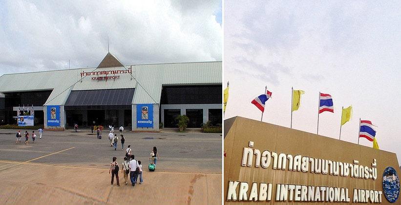 Аэропорт Краби в Таиланде