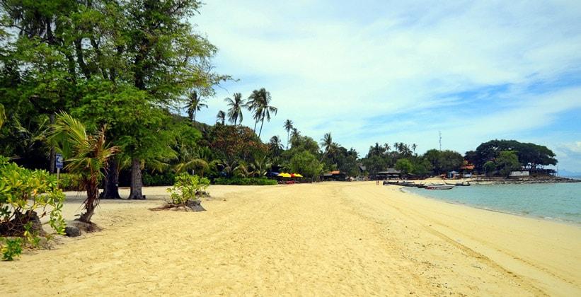 Пляж Лэм Тонг в Таиланде