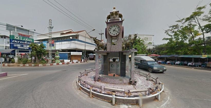 Таиландский город Мае Сот