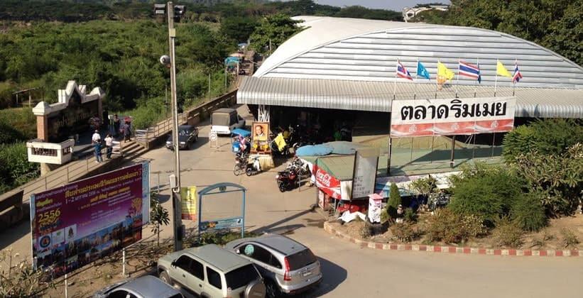 Приграничный рынок Риммоэй в Мае Соте