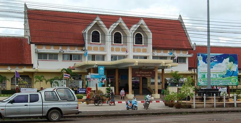 Железнодорожная станция в Нонгкхае