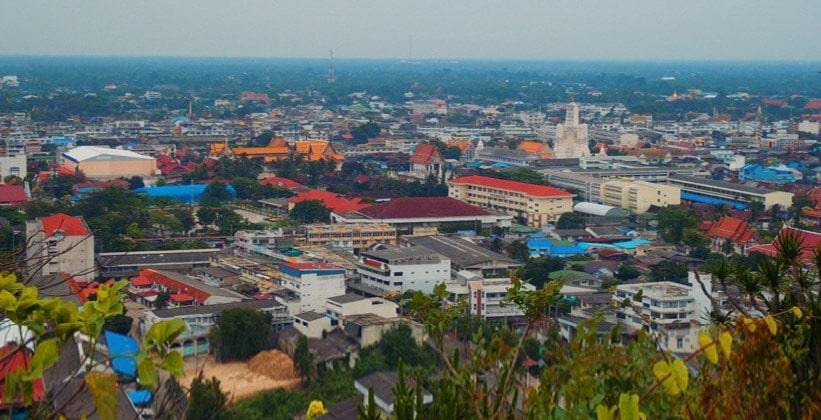 Таиландский город Пхетчабури