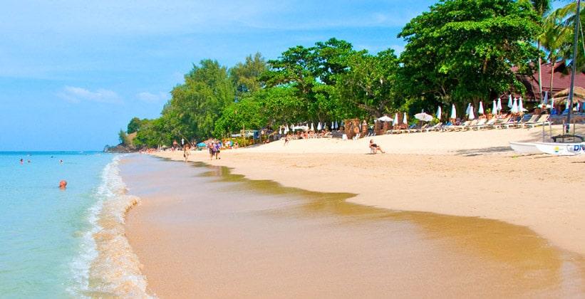 Курорт (пляж) Пхра-Ае на острове Ко Ланта Яй