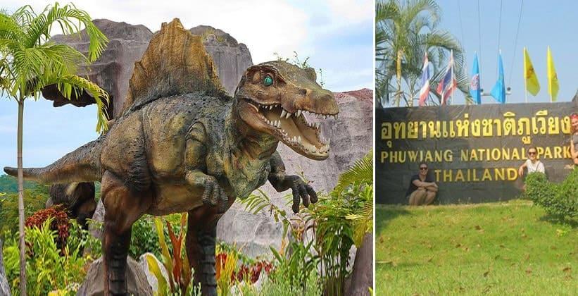 Национальный парк Пхувианг (Земля динозавров) в Таиланде