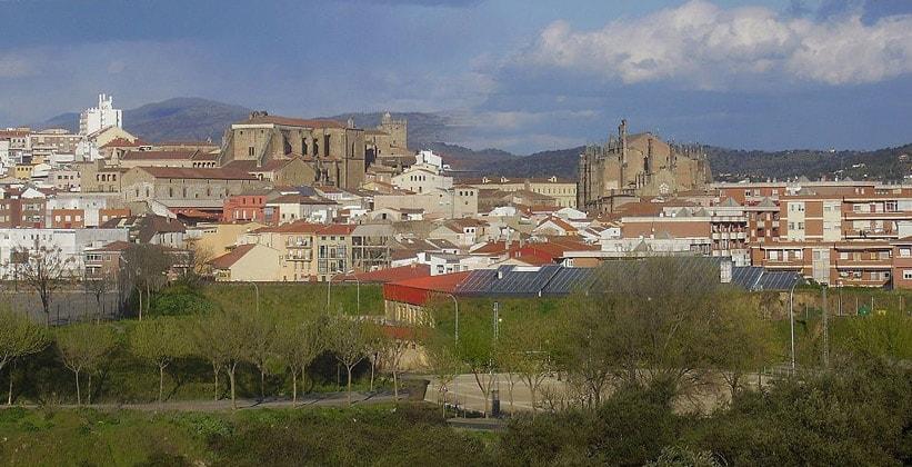 Испанский город Пласенсия