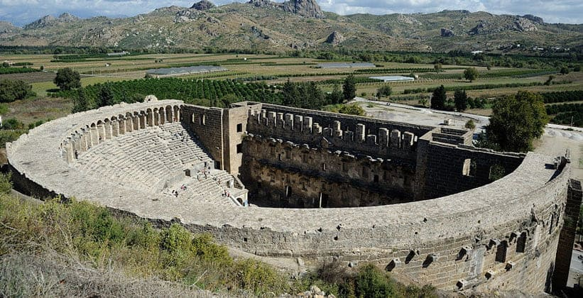 Римский театр в городе Аспендос