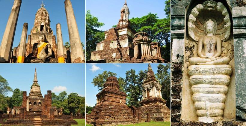 Исторический город Си Сатчаналай в Таиланде