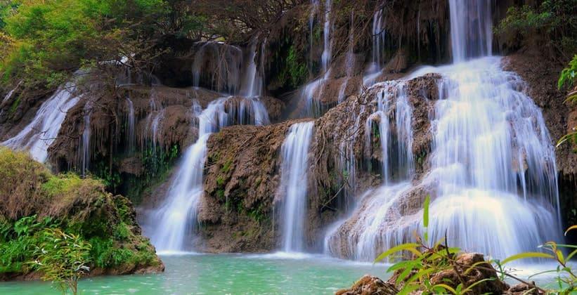 Водопад Тилорсу в Таиланде