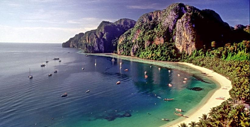 Пляж (курорт) Тон Сай в Таиланде
