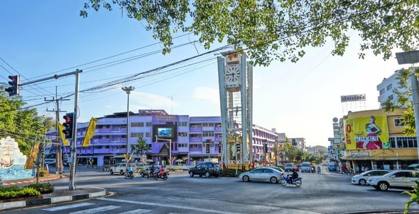 Таиландский город Транг