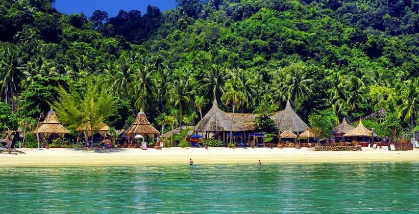 Острова Транга в Таиланде