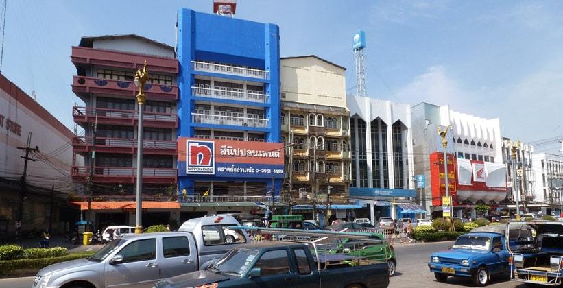 Город Трат в Таиланде