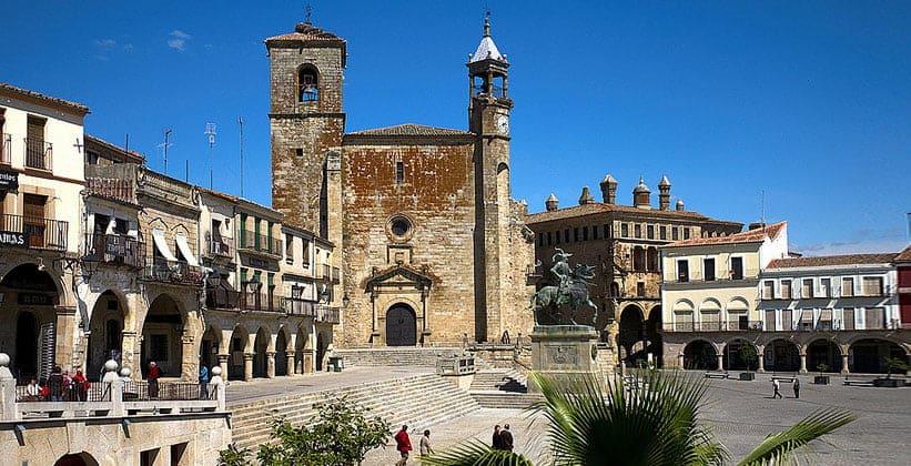 Испанский город Трухильо