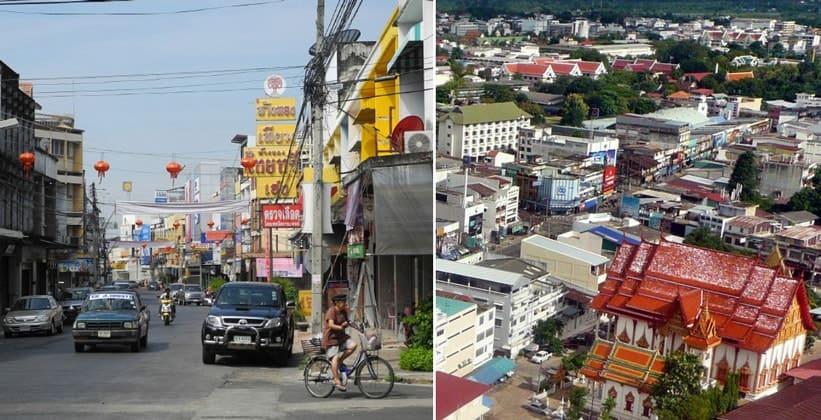 Город Убонратчатхани в Таиланде