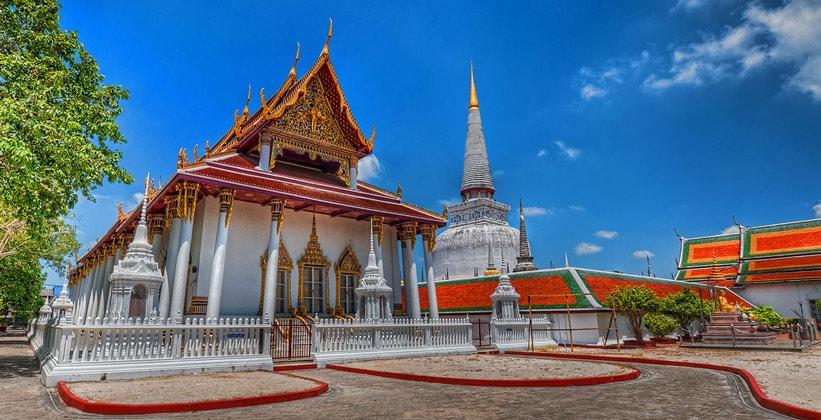 Храм Ват Махатхат в Накхонситхаммарате