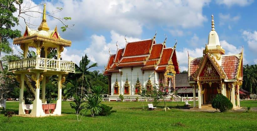 Храм Wat Nai Muang (окрестности Чумпхона)