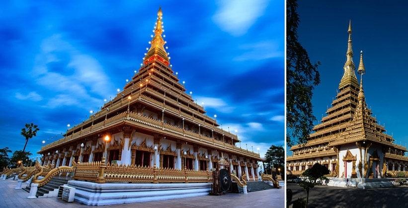 Храм Wat Phra Mahathat в Кхонкэне