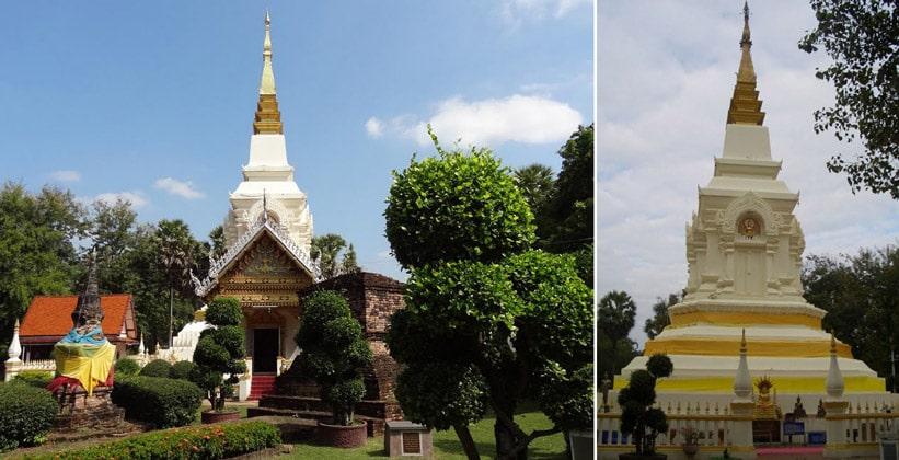 Храм Ват Пхра Тхат Банг Пхуан в Таиланде