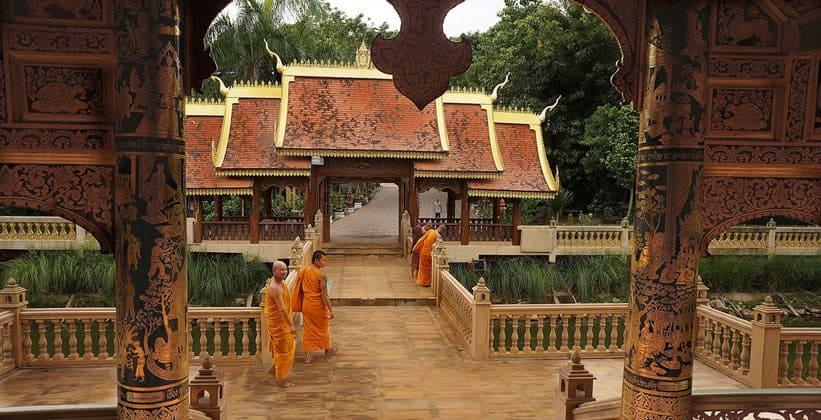 Храм Ват Понг Панг в Таиланде