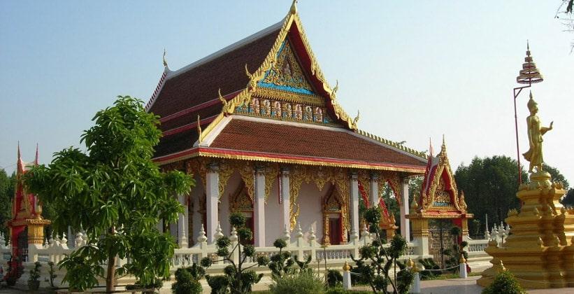 Храм Wat Sai Thong (окрестности Трата)