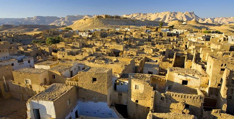 Поселение Аль-Каср в Египте