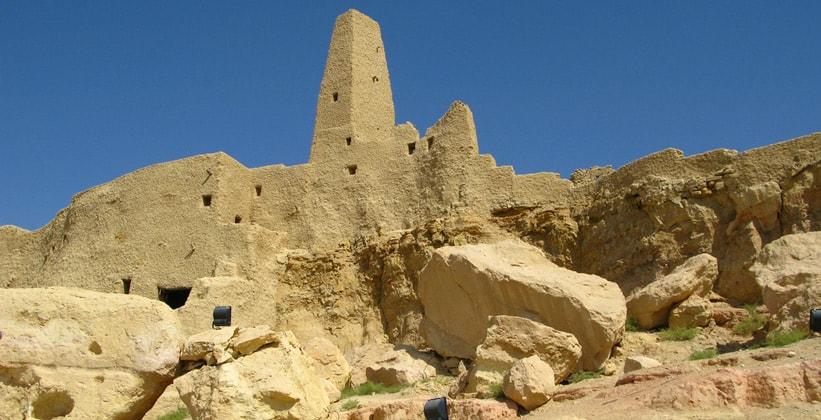 Древнее поселение Агхурми в Египте