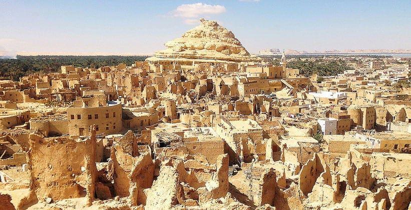 Вокруг оазиса Сива в Египте