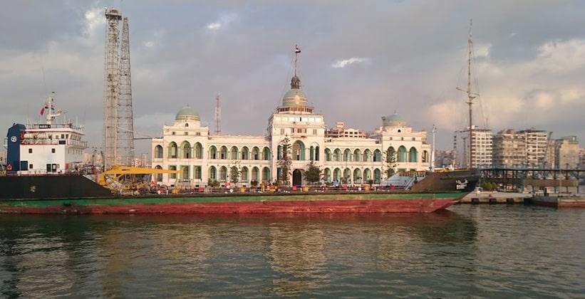 Администрация Суэцкого канала в Порт-Саиде (Египет)