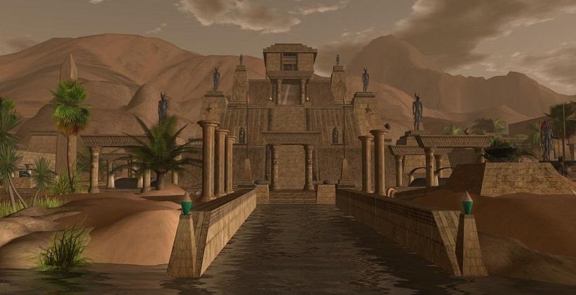 Исчезнувший древний город Аварис в Египте