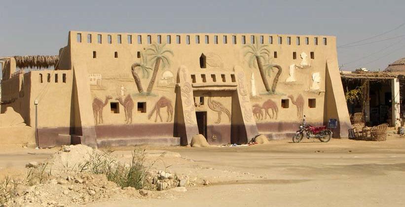 Музей Бадра в Египте (оазис Фарафра)