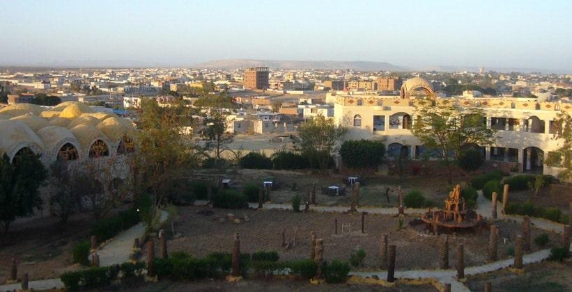 Город-деревня Бавити в Египте