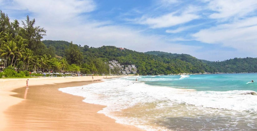 Пляж Ао Ката Ной на острове Пхукет