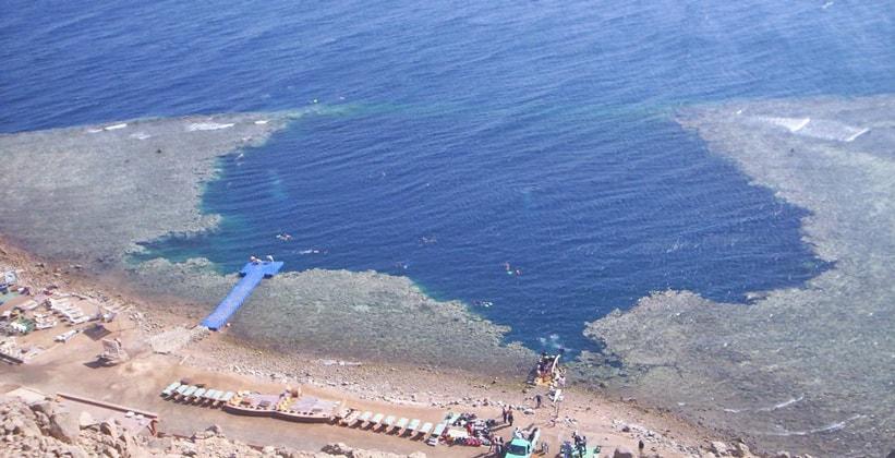Голубая дыра на Синае (Египет)