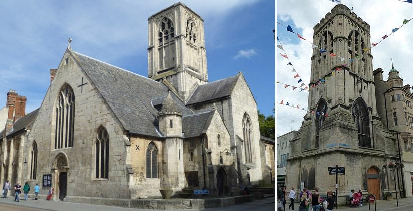 Церковь Святой Марии де Крипт в Глостере