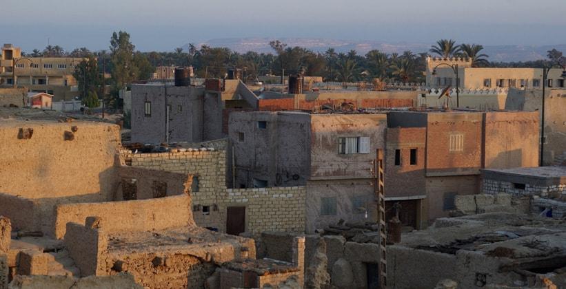 Город Сива в Египте