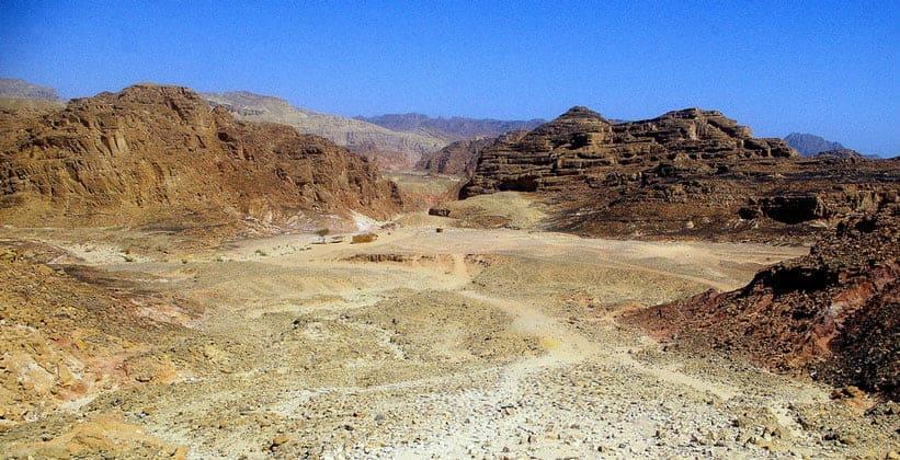 Цветной каньон (Coloured Canyon) в Египте