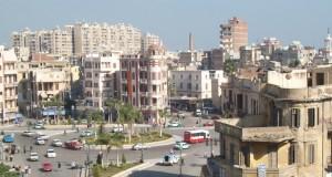 Город Даманхур в Египте