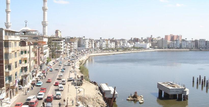 Египетский город Дамиетта (Думьят)