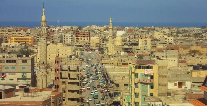 Город Эль-Ариш в Египте