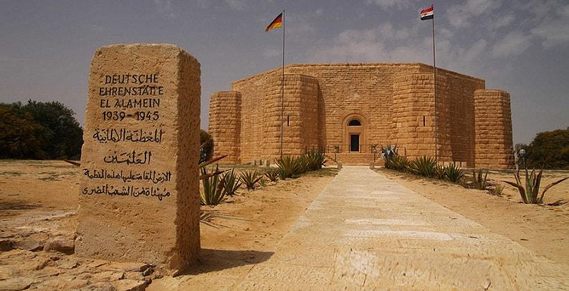 Немецкий мемориал в Эль-Аламейне (Египет)