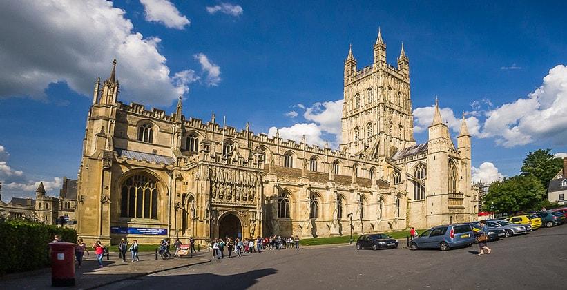 Глостерский собор в Англии