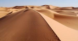 Великое песчаное море в Египте