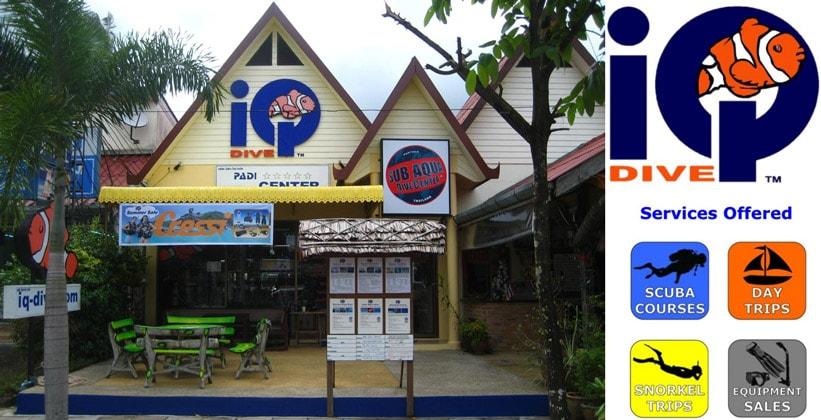 Дайвинговый центр IQ Dive на курорте Као Лак