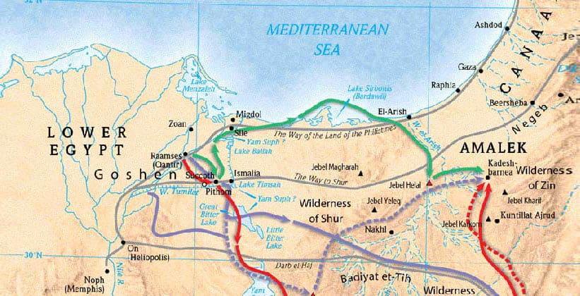 Земля Гошен в Египте