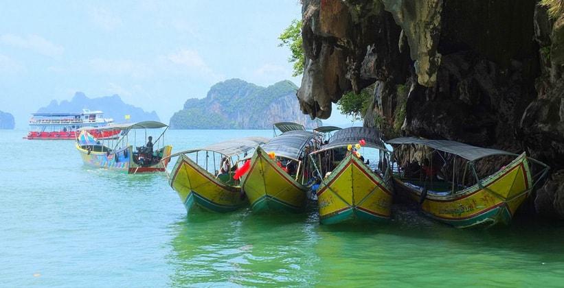 Лодки на острове Пхукет