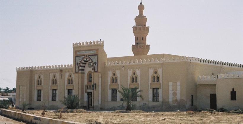 Мечеть в городе Сива (Египет)