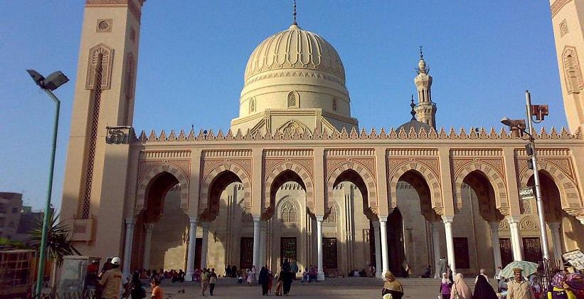 Мечеть Святого Ахмеда Эль-Бадави в Танте (Египет)