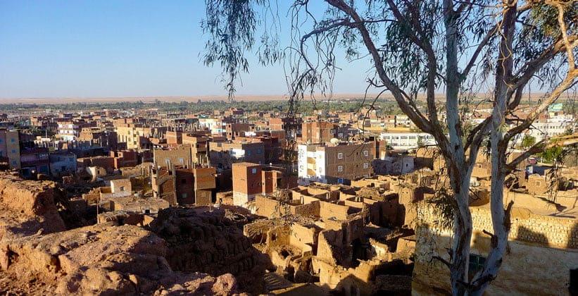 Египетский город Мут