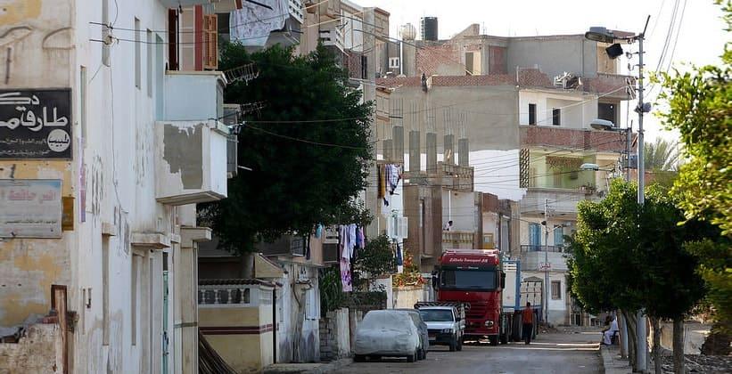 Одна из улиц Розетты (Египет)