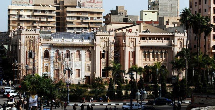 Оперный театр Даманхура (Египет)